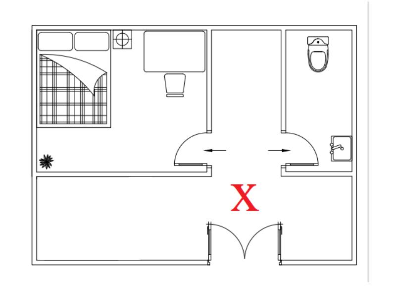 phong thủy nhà vệ sinh cho nhà ống