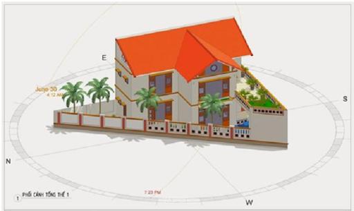 Kiêng xây nhà trên đất hình tam giác